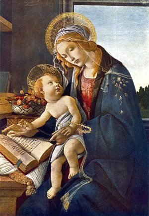 Sandro Botticelli (Alessandro Filipepi) - Madonna with the Child