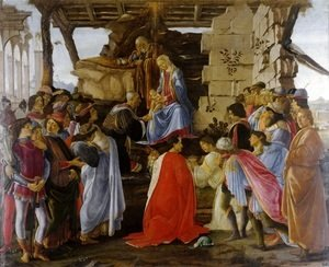 Sandro Botticelli (Alessandro Filipepi) - The Adoration of the Magi