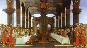 Sandro Botticelli (Alessandro Filipepi) - The Wedding Banquet