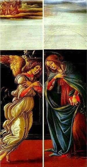 Sandro Botticelli (Alessandro Filipepi) - The Annunciation