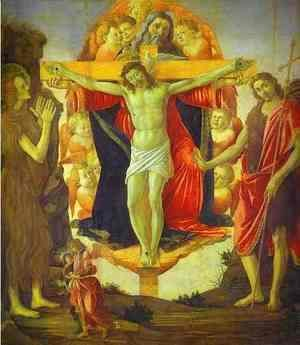 Sandro Botticelli (Alessandro Filipepi) - The Holy Trinity