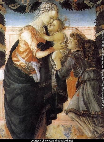 Madonna and Child with an Angel 2