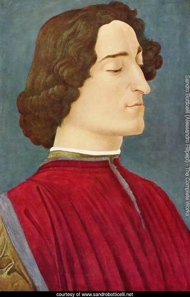 Portrait of Giuliano de' Medici 3