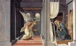 Sandro Botticelli (Alessandro Filipepi) - The Annunciation 2