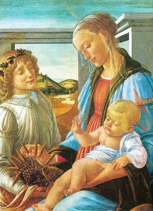 Sandro Botticelli (Alessandro Filipepi) - The virgin of the Eucharist