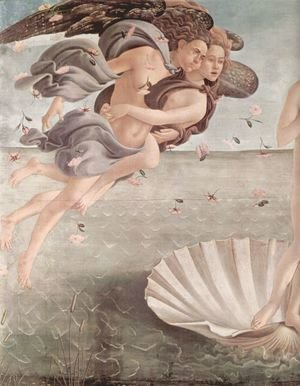 Sandro Botticelli (Alessandro Filipepi) - The Birth of Venus (detail 5)