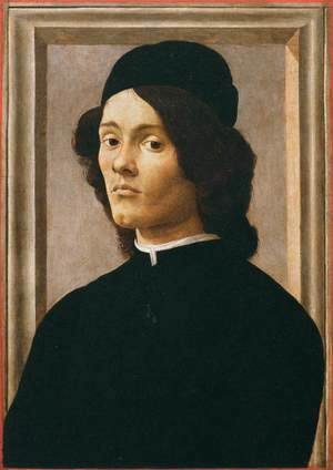 Sandro Botticelli (Alessandro Filipepi) - Portrait of a Youth