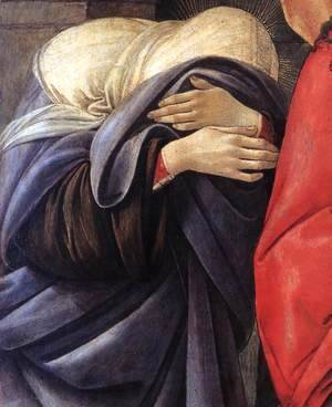 Sandro Botticelli (Alessandro Filipepi) - Lamentation over the Dead Christ (detail)