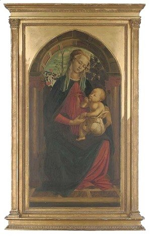 Sandro Botticelli (Alessandro Filipepi) - The Madonna and Child