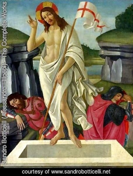 Sandro Botticelli (Alessandro Filipepi) - The Resurrection