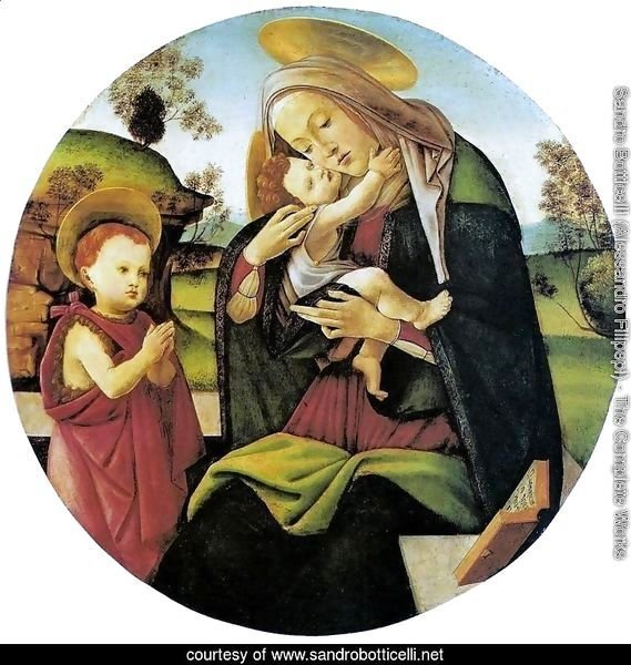 Virgin and Child with the Infant St. John the Baptistbetween