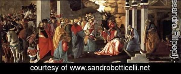 Sandro Botticelli (Alessandro Filipepi) - Adoration of the Magi 1465-67