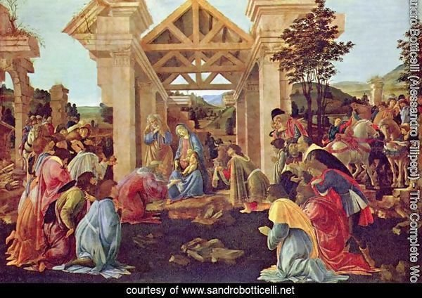 Adoration of the Magi 1481-82