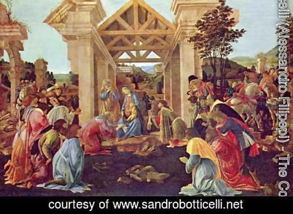 Sandro Botticelli (Alessandro Filipepi) - Adoration of the Magi 1481-82