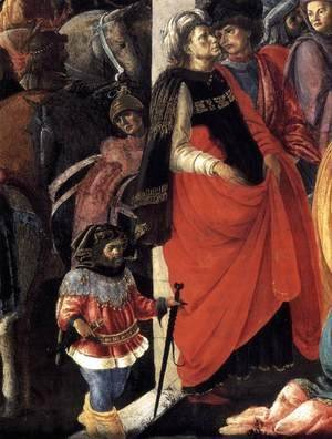 Adoration of the Magi (detail 1) 1465-67
