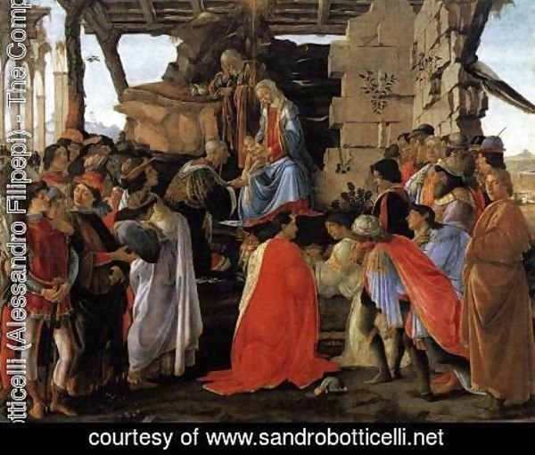 Sandro Botticelli (Alessandro Filipepi) - Adoration of the Magi c. 1475
