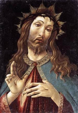 Sandro Botticelli (Alessandro Filipepi) - Christ Crowned with Thorns c. 1500