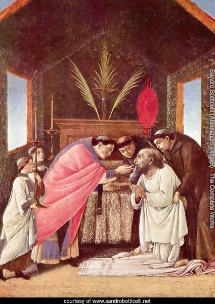 Last Communion of St Jerome c. 1495