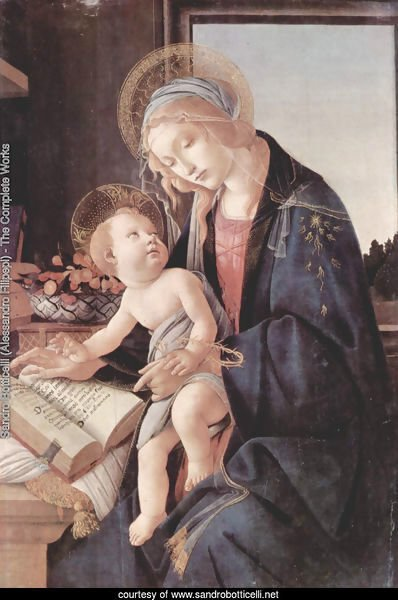 Madonna of the Book (Madonna del Libro) c. 1483