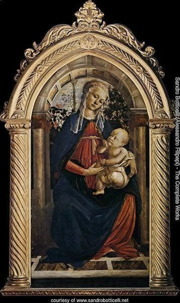 Madonna of the Rosegarden (Madonna del Roseto) 1469-70