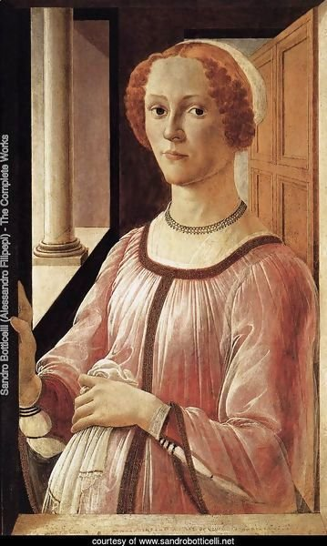 Portrait of a Lady 1470-75