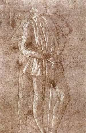 Study of two standing figures c. 1475