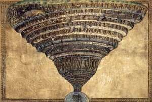 Sandro Botticelli (Alessandro Filipepi) - The Abyss of Hell 1480s