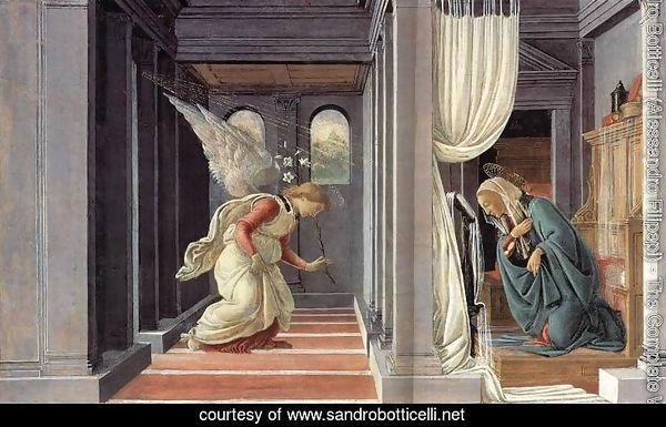 The Annunciation c. 1485