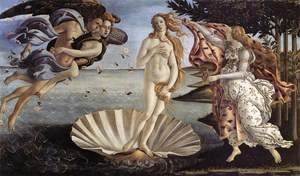 Sandro Botticelli (Alessandro Filipepi) - The Birth of Venus c. 1485