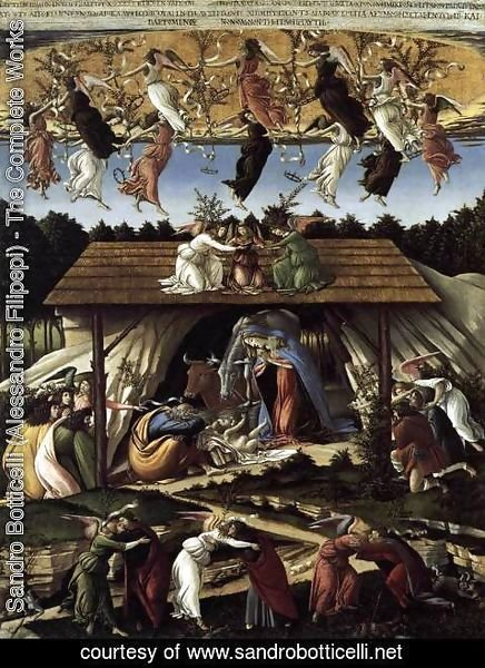 Sandro Botticelli (Alessandro Filipepi) - The Mystical Nativity c. 1500