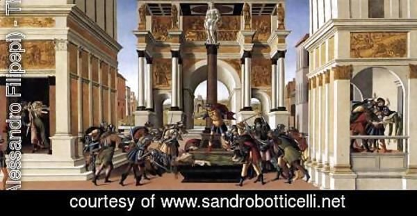 Sandro Botticelli (Alessandro Filipepi) - The Story of Lucretia 1496-1504