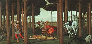 The Story of Nastagio degli Onesti (second episode) c. 1483
