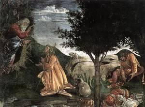 The Trials and Calling of Moses (detail 3) 1481-82